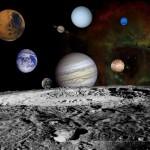 Sistema Solar - Crédito: NASA