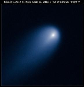Cometa ISON - foto tirada pelo telescópio Hubble