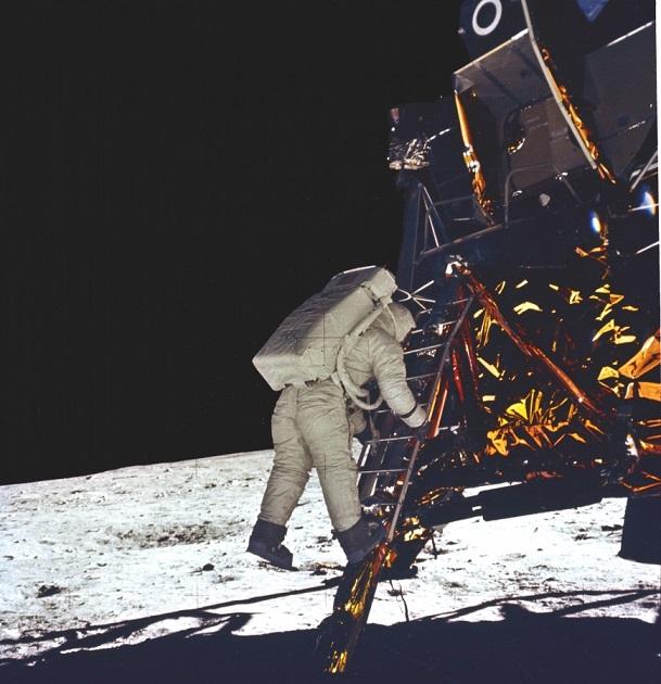 Foto da Apollo 11 - Buzz Aldrin