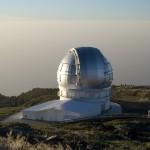 Gran Telescopio Canarias - Credito: Pachango