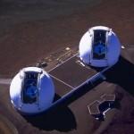 Telescópios Keck 1 e Keck 2