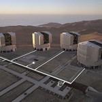 VLT - Very Large Telescope. Crédito: ESO.