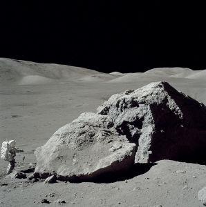 Harrison Schmitt na Lua