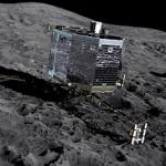 Philae pousou no cometa 67P/Churyumov-Gerasimenko