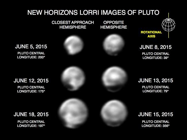 new horizons - plutao 3