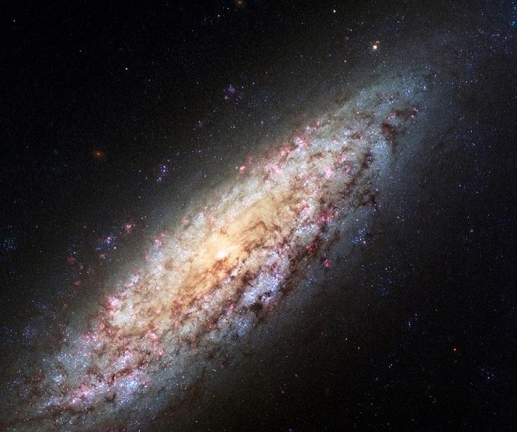 NGC 6503 - Foto obtida pelo Hubble