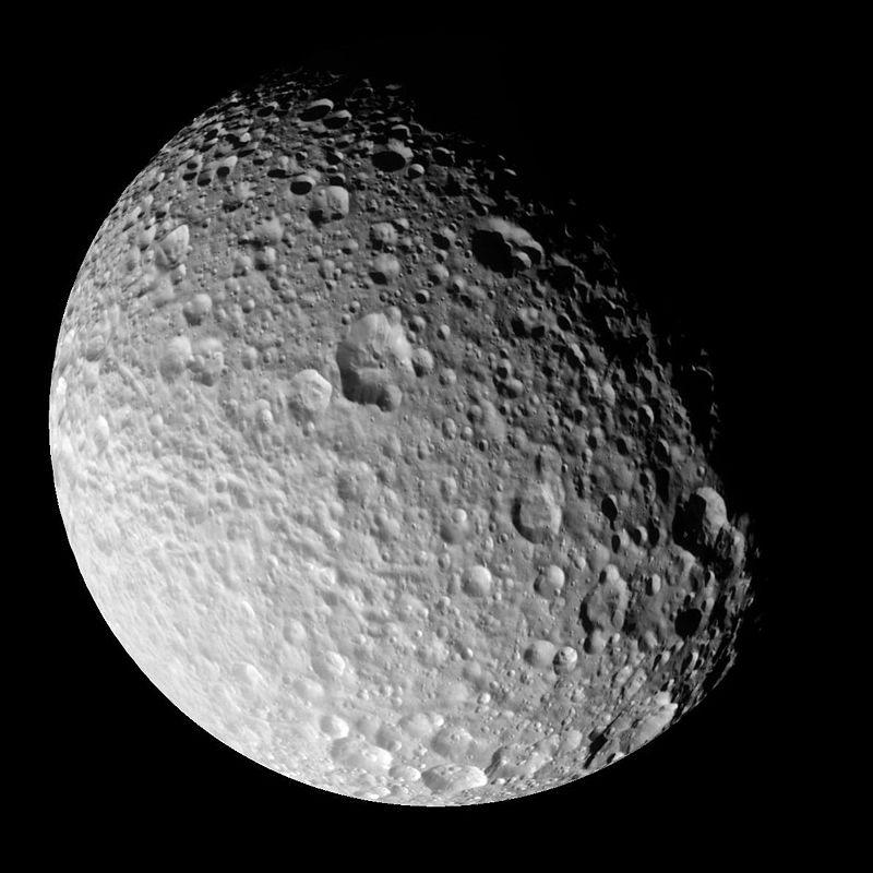 Mimas - Satélite de Saturno