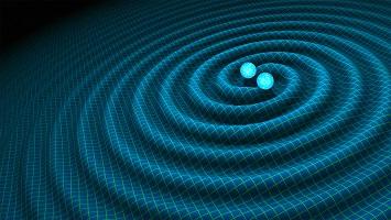 Ondas Gravitacionais. Crédito: R. Hurt/Caltech-JPL