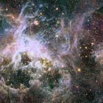 Nebulosa da Tarântula em infravermelho
