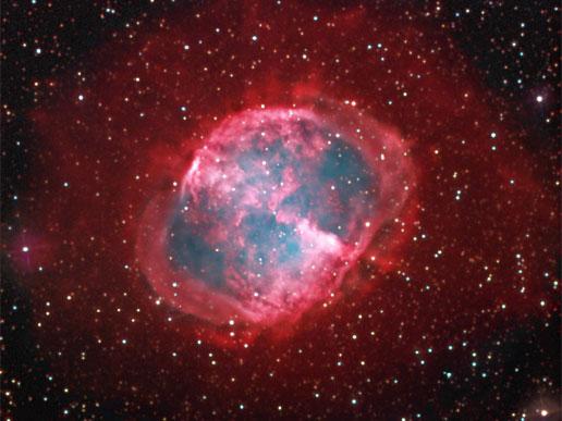 Nebulosa do Haltere - M27