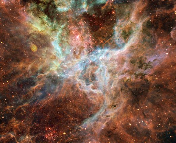 Nebulosa da Tarântula - Regiao Central