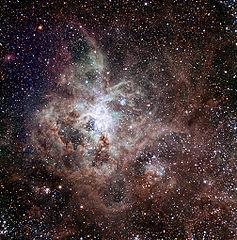 Nebulosa da Tarântula - TRAPPIST/E. Jehin/ESO