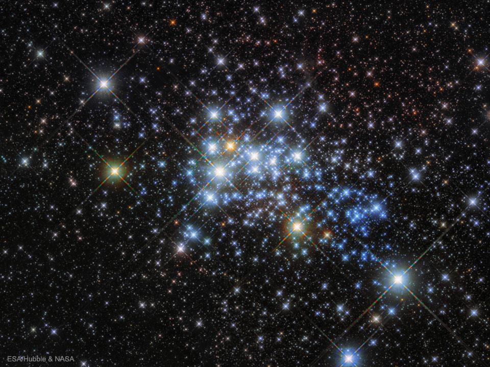 Aglomerado de estrelas - Westerlund 1