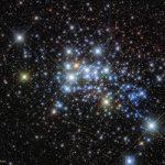 Westerlund 1 - aglomerado de estrelas